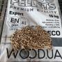 Пеллеты древесные ENplus A1, сосна, 6мм, 15кг, 1 тонна - Пеллеты - 4,400.00