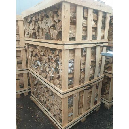 Дрова колотые береза премиум в ящике, 2.2 складометра - Дрова - 2,650.00