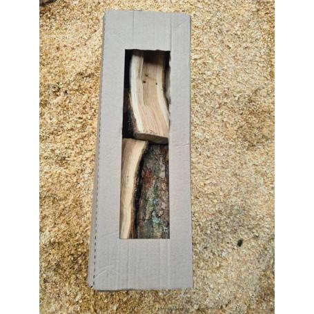 Дрова из дуба сухие (16-22%) премиум в упаковке из гофрокартона, 25 дм3 - Дрова - ₴90.00