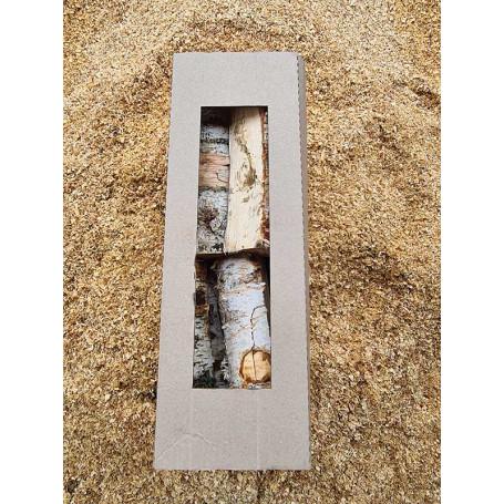 Dry birch firewood in box 25cm, 25 dm3 Firewood ₴85.00